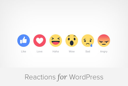 Reactions For WordPress
