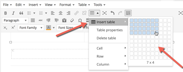 How To Insert Tables In WordPress With A Plugin