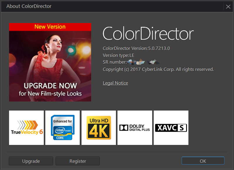 CyberLink ColorDirector 5 Full Version