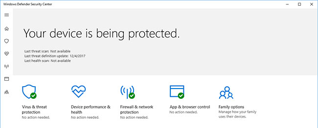 Hướng dẫn Turn off Windows Defender Antivirus trong Windows 10