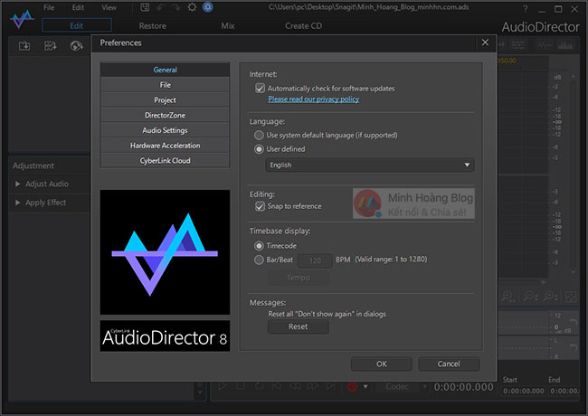 Download CyberLink AudioDirector Ultra 8.0.2406.0