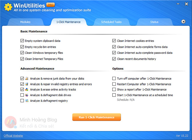 Download Winutilities Professional Edition 15.22 Full Key – System Optimization Professional