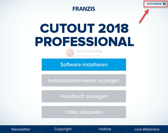 Install and Active Franzis CutOut 2018 Professional 6.1.0.2