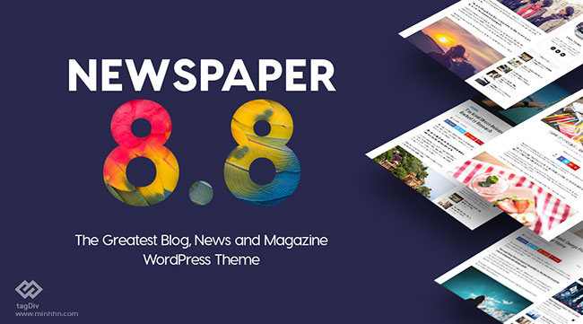 Newspaper V8.8.1 WordPress theme