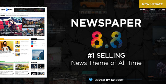 Newspaper v8.8.1 – The Best News Magazine WordPress Theme