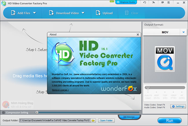 WonderFox HD Video Converter Factory 16.1 Crack + Keygen