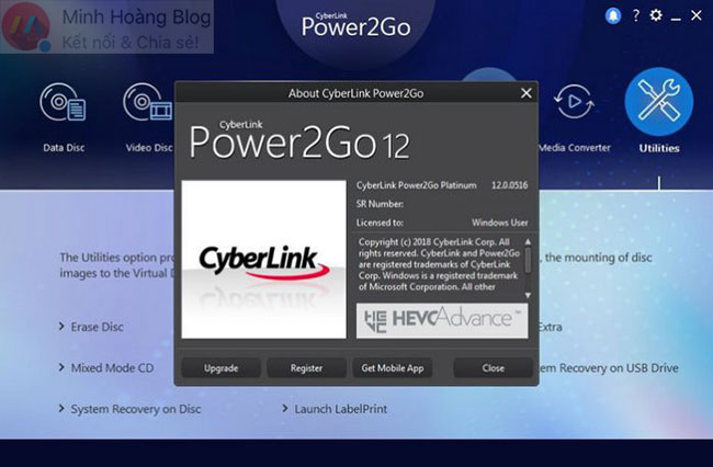 CyberLink Power2Go 12.0.0516.0 Platinum