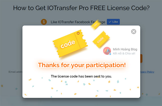 Get IOTransfer Pro FREE License Code