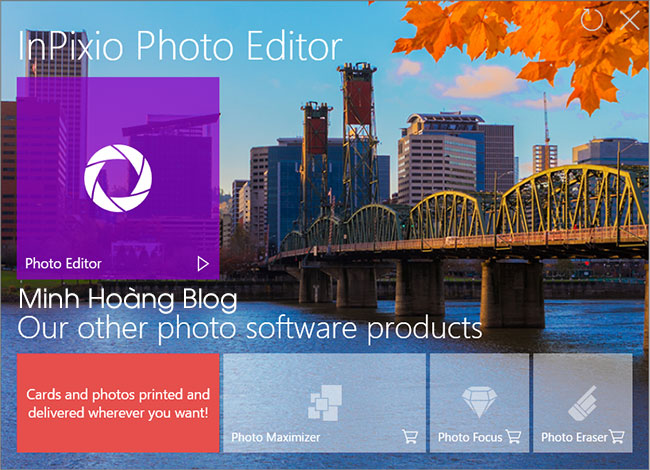 Download InPixio Photo Editor Premium Full License