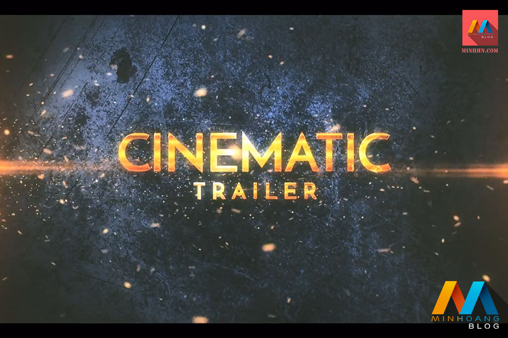Cinematic Epic Trailer After Effects Template