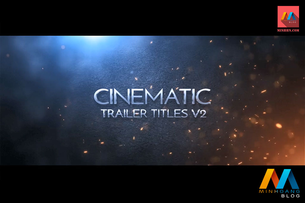 Cinematic Trailer Titles V2 After Effects Template