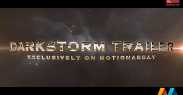 Darkstorm Trailer After Effects Template