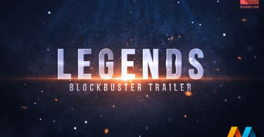 Legends Blockbuster Trailer After Effects Template