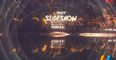 Trailer Slideshow After Effects Template