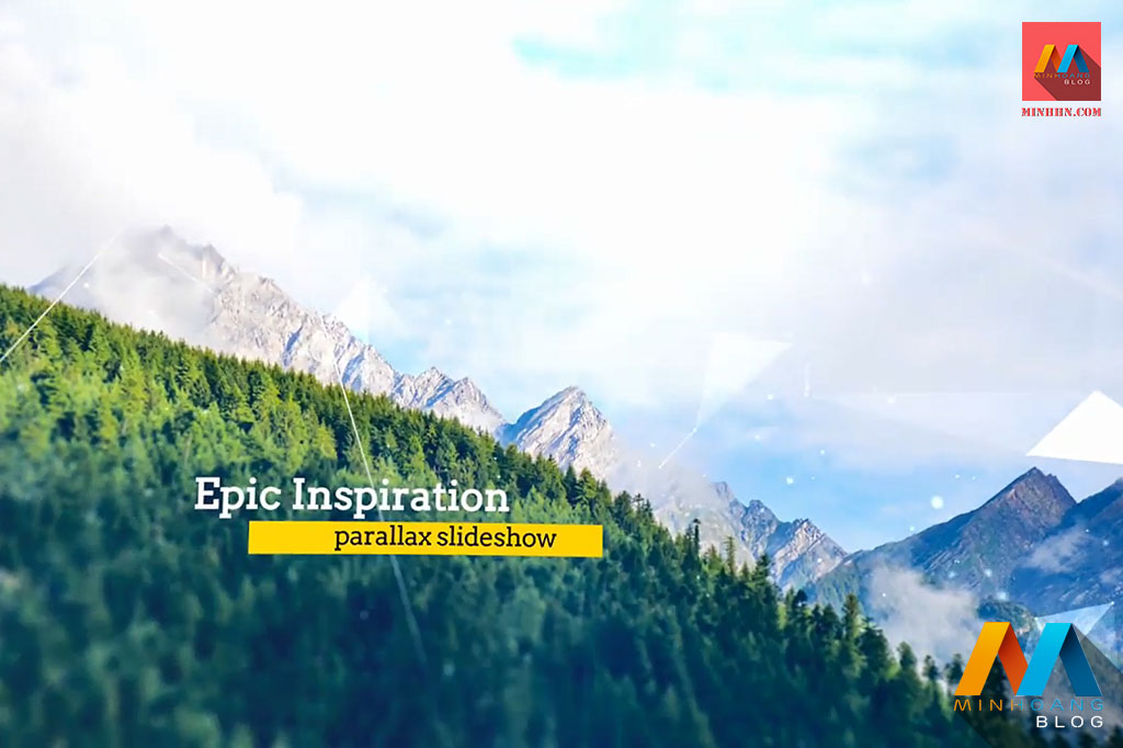 Epic Inspiration Parallax Slideshow After Effects Template