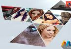 Videohive Triangle Slideshow After Effects Template
