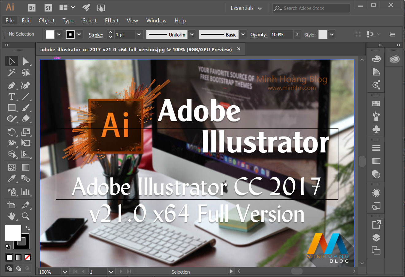 Adobe Illustrator CC 2017 v21.0