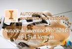 Autodesk Inventor Professional 2016 x64 Full Version