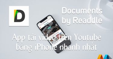 Documents by Readdle - App tải video trên Youtube bằng iPhone, iPad