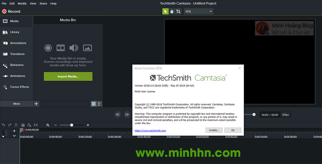 Active Camtasia Studio 2018