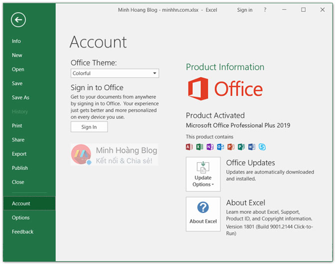 Microsoft Office Professional Plus 2019 Preview - Microsoft Excel 2019