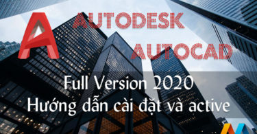 Download Autodesk AutoCAD 2020 Full Version