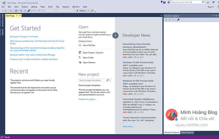 Visual Studio 2017 Professional Full Version - Hình 2